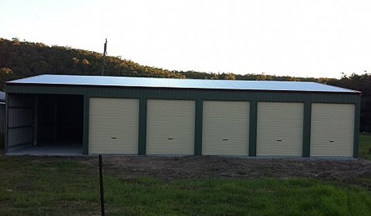 5 Doors Large Storage Shed