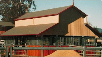 3 bay American style barn