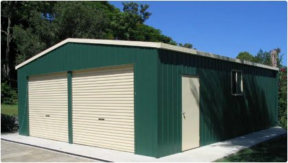 Double Garages - QLD Shed markets