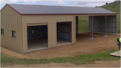 Farm Shed Solutions with QLD Shed Markets