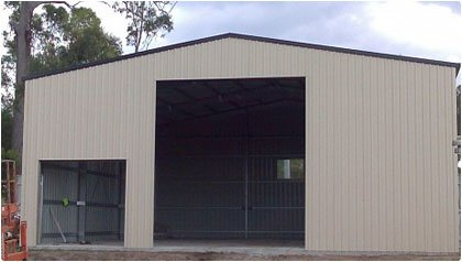 Large Storage Shed