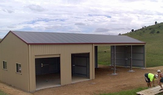 Farm Shed Design - QLD Shed Markets