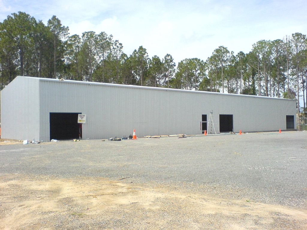 A Large Industrial Shed