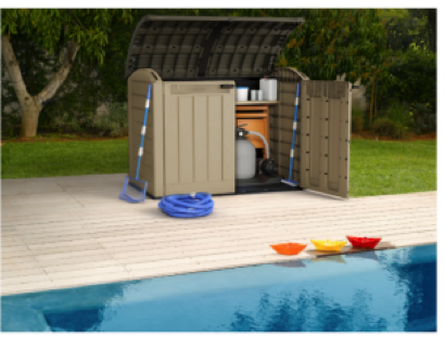 mini shed for pool pump