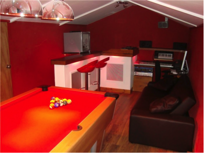 shed games room