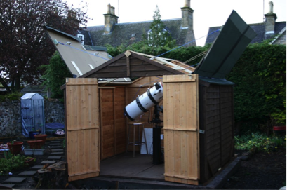 Observatory in the shed