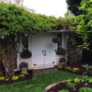 secret garden hideaway shed